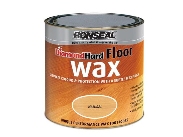 Diamond Hard Floor Wax Natural 2.5 Litre