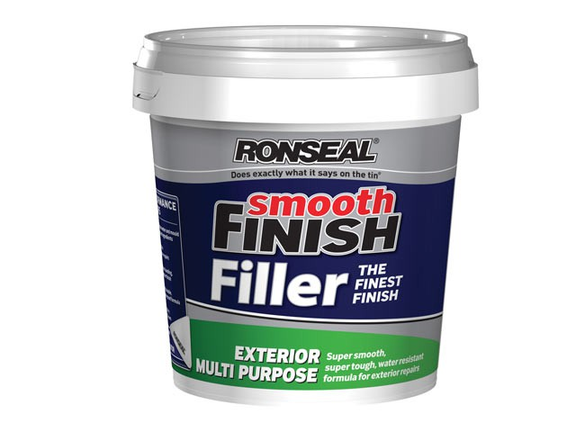 Smooth Finish Exterior Multi Purpose Ready Mix Filler Tub 1.2kg