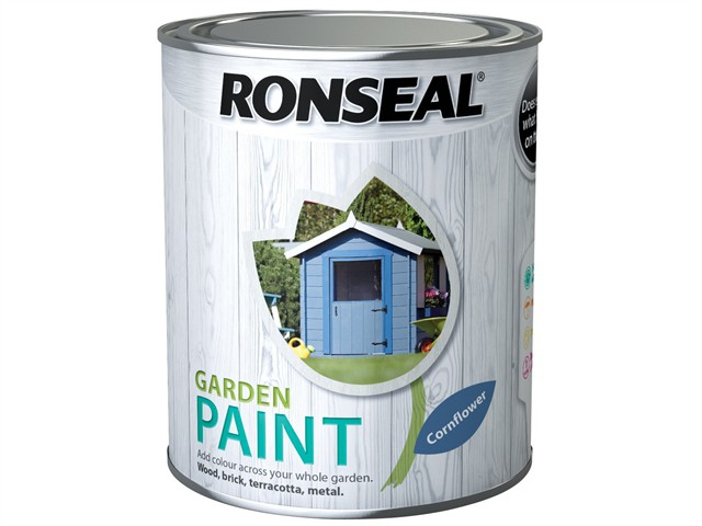 Garden Paint Cornflower 750ml