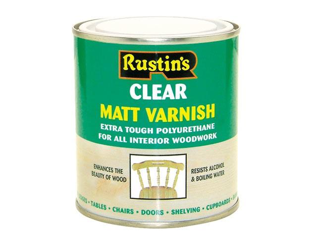 Polyurethane Varnish Matt Clear 5 Litre