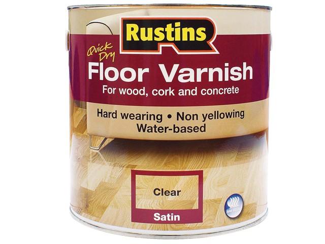Quick Dry Floor Varnish Satin 5 Litre