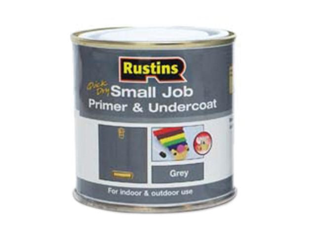 Small Job Primer & Undercoat Grey 250ml