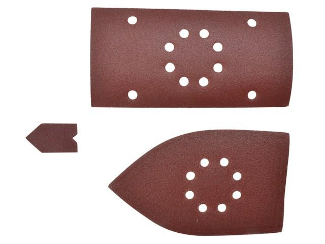 Palm Sander Sheets Assorted (Pack 30)