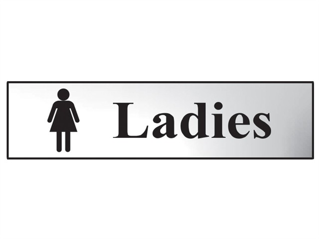 Ladies - Polished Chrome Effect 200 x 50mm