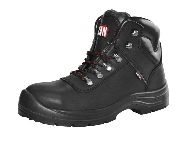 Serval Black Ankle Boots UK 11 Euro 46