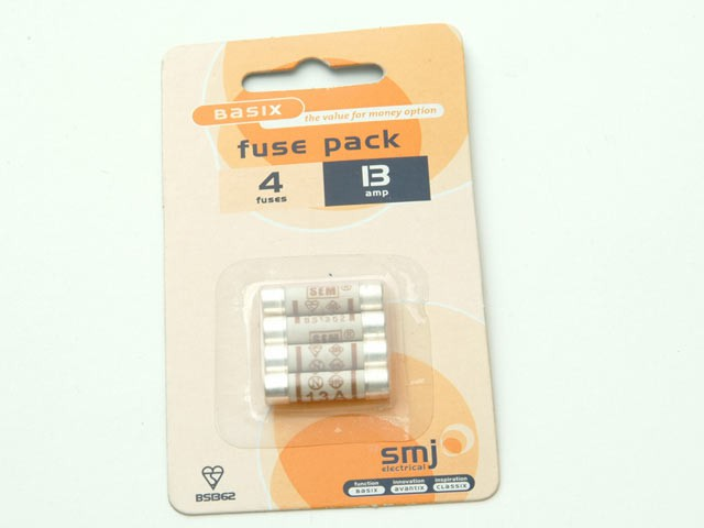 13A Fuses (Pack of 4)