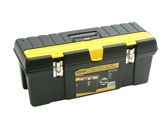 Toolbox with Level Compartment 66cm (26in)
