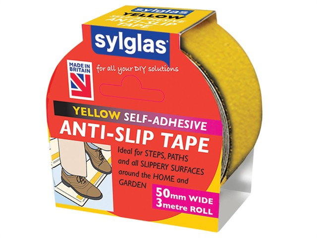 Anti-Slip Tape 50mm x 3m Yellow