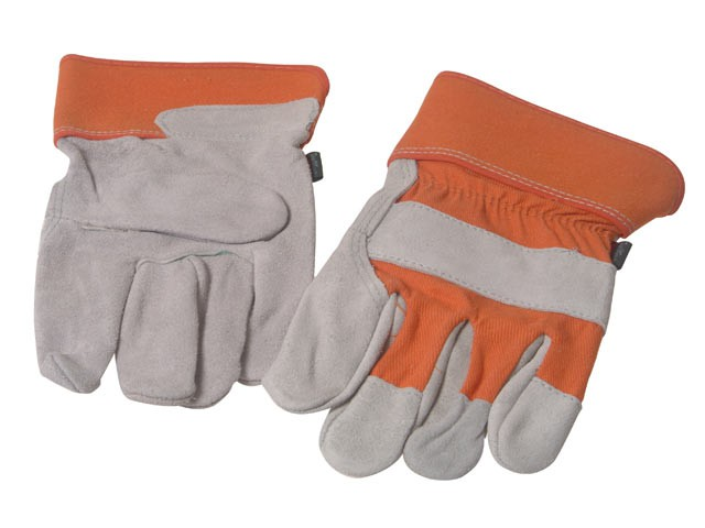TGL409 Men's Leather Palm Gloves