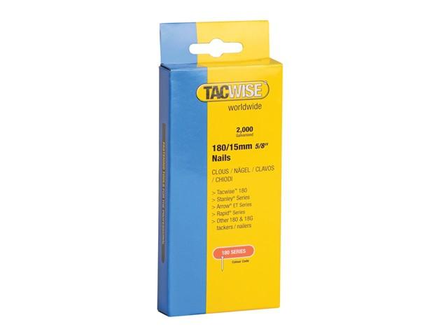 180 18 Gauge 15mm Nails Pack 2000