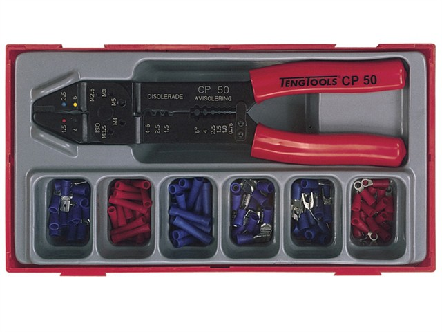TTCP121 121 Piece Crimping Tool Set