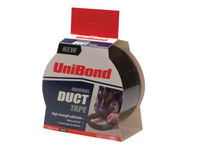 Duct Tape Black 50mm x 25m