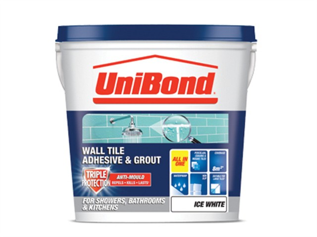 Tile On Walls Anti-Mould Ready Mix Adhesive & Grout Large