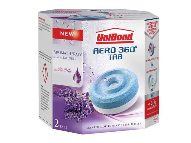 Aero 360 Moisture Absorber Aromatherapy Lavender Refills Pack of 2
