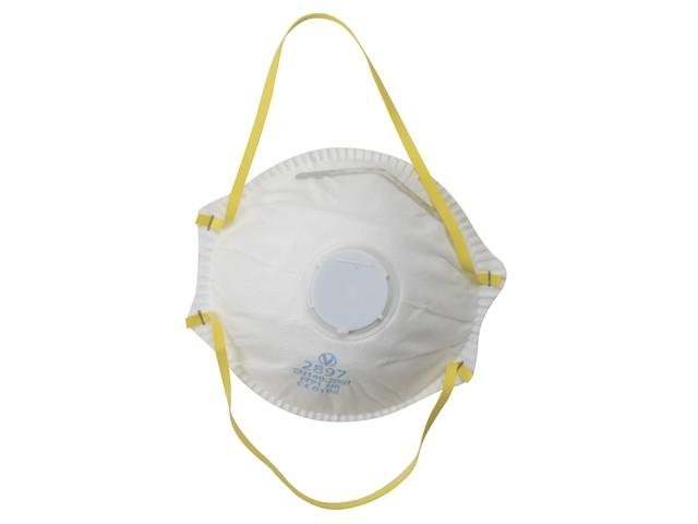 Premium Valved Moulded Sanding & Insulation Mask FFP1 (Pack of 3)