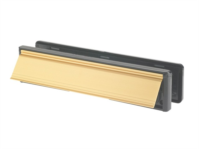 Letter Plate Gold (Visi-Packed) 300mm (12in)