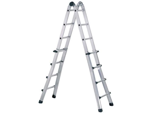 Trade Telescopic Combination Ladder 4 x 6 Rungs