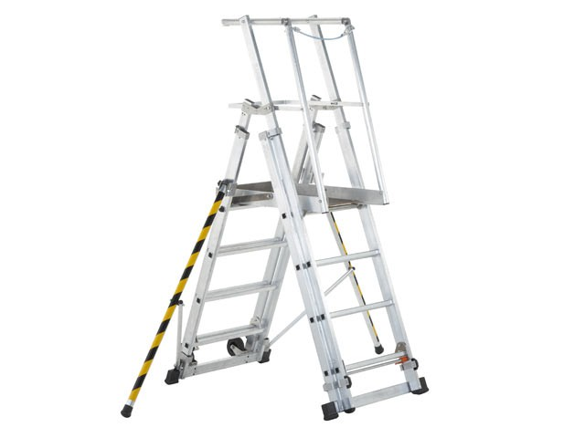 ZAP 1 Access Platform Platform Height 1.0/1.3/1.6/1.8m 4 - 7 Rungs