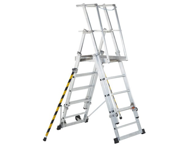 ZAP 2 Access Platform Platform Height 1.3/1.6/1.8/2.1/2.4m 5-9 Rungs