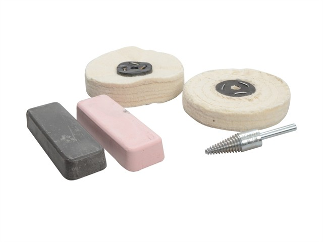 Polishing Kit Ferrous Metal - Grey & Pink
