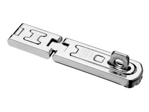 100/100 DG Hinged Hasp & Staple Carded 100mm