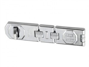 110/195 Hinged Hasp & Staple 195mm