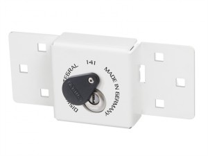 Integral Van Lock White 141/200 + 26/70 with 70mm Series 26 Diskus Padlock