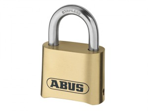 180IB/50 50mm Brass Body Combination Padlock (4-Digit) Carded