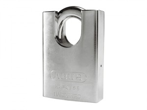 34/55 55mm Hardened Steel Padlock Close Shackle Carded 35056