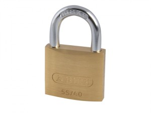 55/40mm Brass Padlock Carded