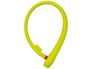 560/65 uGrip Soft Grip Cable Lock Lime 65cm x 8mm