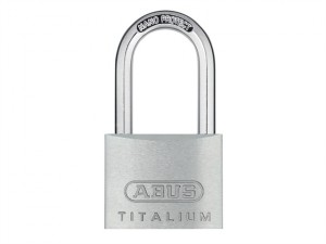 64TI/40mm TITALIUM™ Padlock 40mm Long Shackle Keyed Alike KA6411