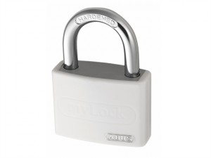 T65AL/40 40mm My Lock Aluminium Padlock White Body 50723