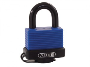 70IB/35mm Aqua Safe Brass Padlock Carded