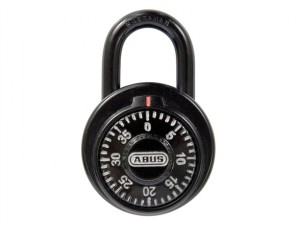 78/50mm Dial Combination Padlock with Key Override MK507