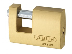 82/63mm Monoblock Brass Shutter Lock Keyed Alike 8501