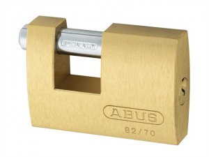 82/70mm Monoblock Brass Shutter Padlock Keyed Alike 8514