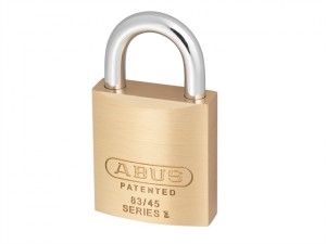 83/45 45mm Brass Body Padlock Carded