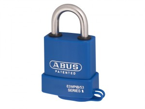 83WPIB / 53 Submariner Brass Body Stainless Steel Shackle Padlock