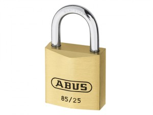85/25mm Brass Padlock