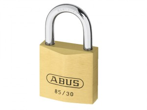 85/30mm Brass Padlock Carded
