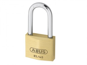 85/40mm Brass Padlock 40mm Long Shackle