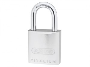 86TI/45 70mm Titalium Padlock Without Cylinder Long Shackle