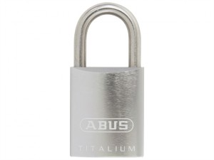 86TIIB/45mm TITALIUM™ Padlock Without Cylinder Stainless Steel Shackle