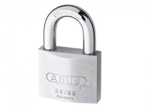 88RK/50mm Brass PLUS Cylinder Padlock Rekeyable Carded