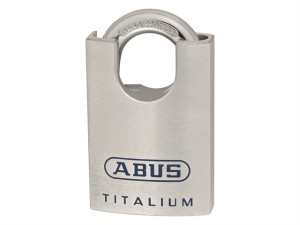 96CSTI/50 Titalium Closed Shackle Padlock 50mm Blister Pack