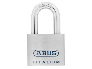 96TI/50 Titalium Open Shackle Padlock 50mm Blister Pack