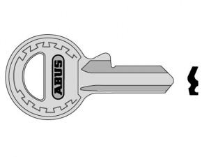 65/20 20mm New Profile Key Blank