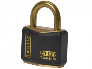 T84MB/30 30mm Black Rustproof Padlock