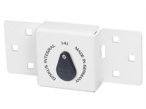 Integral Van Lock White 141/200 + 23/70 with 70mm Series 23 Diskus Padlock